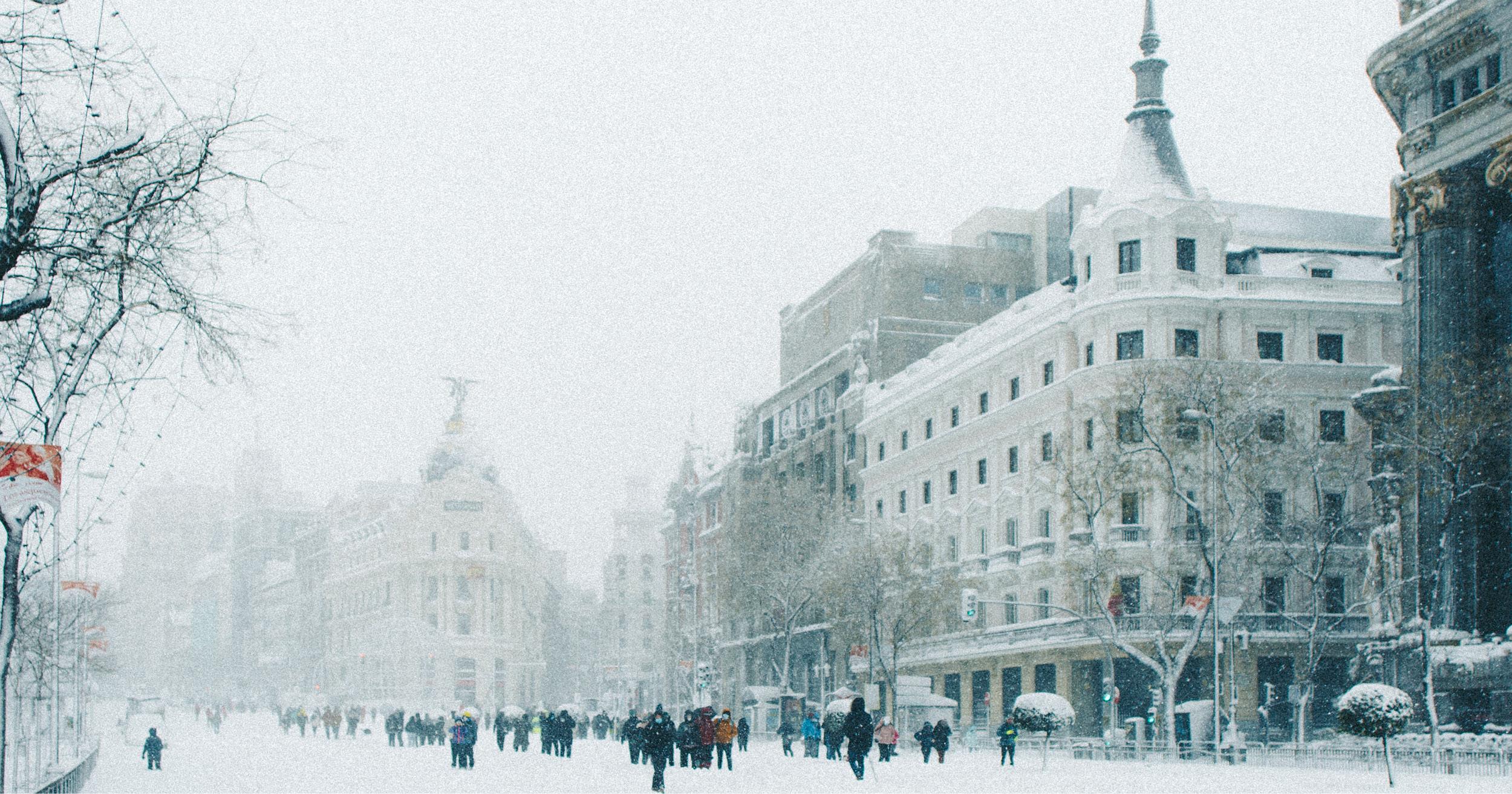 Ola de frío histórica